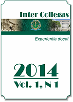 InterCollegas. - Vol. 1, N1, 2014